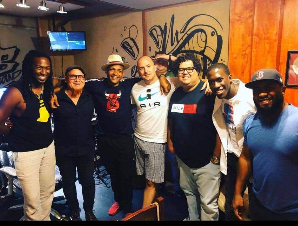 Artistas de lujo, unidos por la música y la amistad en MB Sound