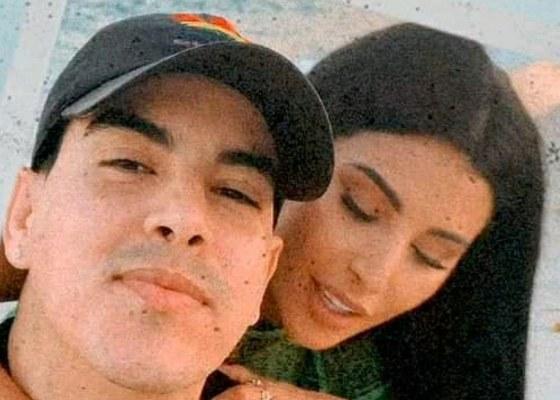 Peter Nieto junto a Eva Davis